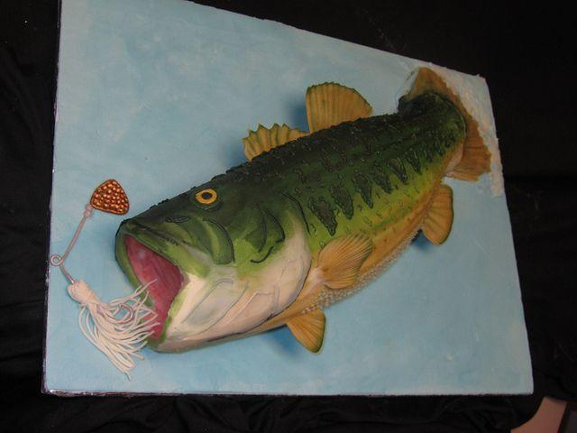 Best 25 Bass fish cake ideas on Pinterest Fishing cakes