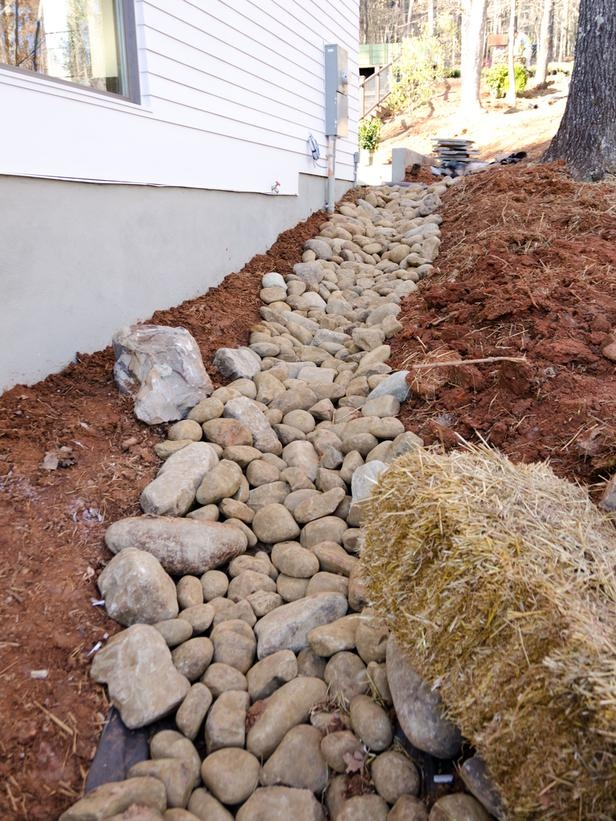 46 Best Images About Outdoors French Drain On Pinterest