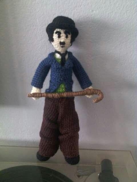 Chaplin, versión color. Crochet