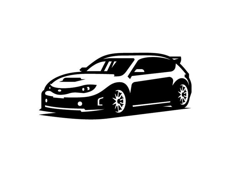 Scoob Logo sketches, Car illustration, Subaru logo