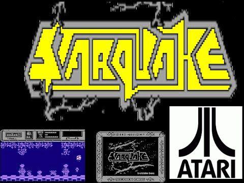 Starquake Music Intro atari 800