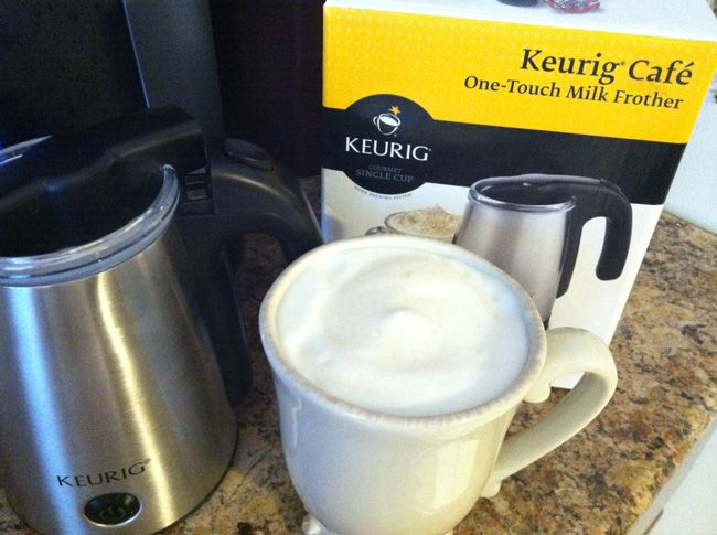 Keurig Coffee Maker Milk Frother : 1000+ images about Keurig stuff :) on Pinterest Trucks, The o jays and Sweet tea