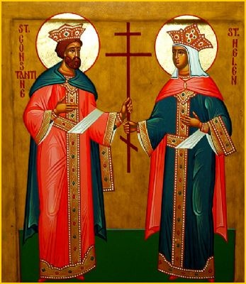 Great Victory - Constantine and Helen      Today, 21 May, we celebrate the life of the saints Constantine and Helen, the Equal of the Apostles.