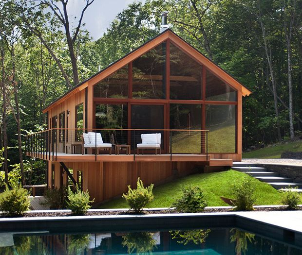 Home Tour: Inside the Ultimate Getaway Cabin: The Daily Details: Blog : Details