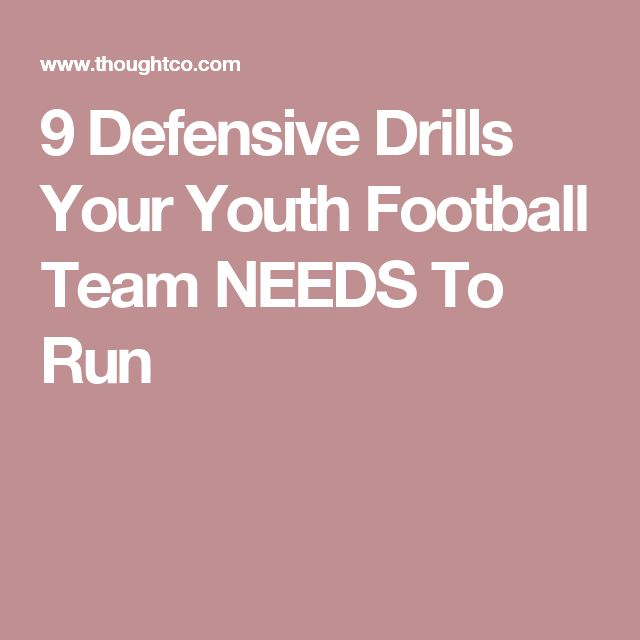 9 Defensive Drills Your Youth Football Team NEEDS To Run