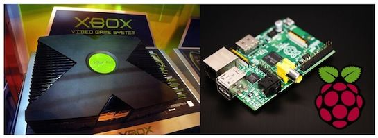Raspberry Pi vs Original Xbox