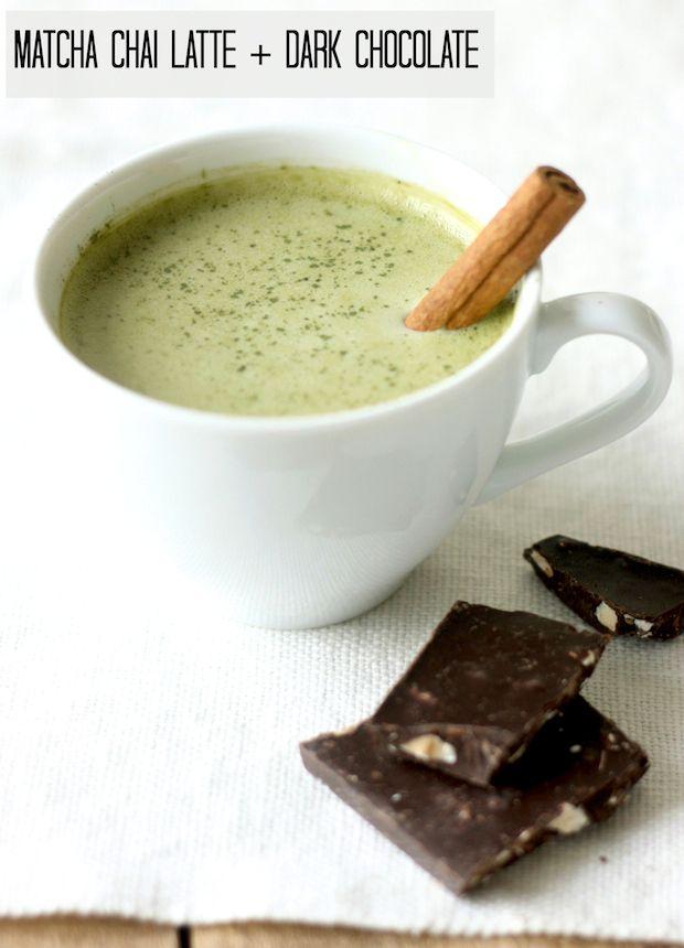 How to make Matcha Latte Chai recipe by SeasonWithSpice.com @seasonwithspice