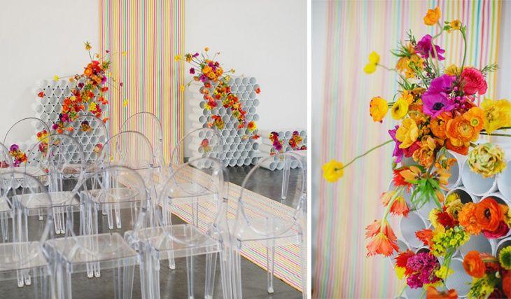 Цветочный декор праздника / Цветы, вазы и цветочные горшки / Своими руками - выкройки, переделка одежды, декор интерьера своими руками - от ВТОРАЯ УЛИЦА