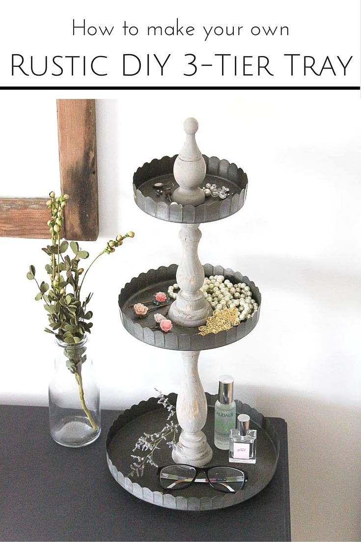 3 Tier Serving Tray Stands Beautiful Ideas To Decorate And Diy Tiered Tray Tiered Tray Diy Rustic Diy