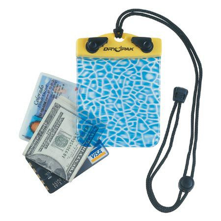 This waterproof wallet case is the perfect solution for keeping your electronics, money and ID cards free from water, sand and dust.