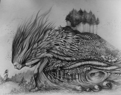 """Check out new work on my @Behance portfolio: """"Pencil on paper"""" http://be.net/gallery/49211515/Pencil-on-paper"""