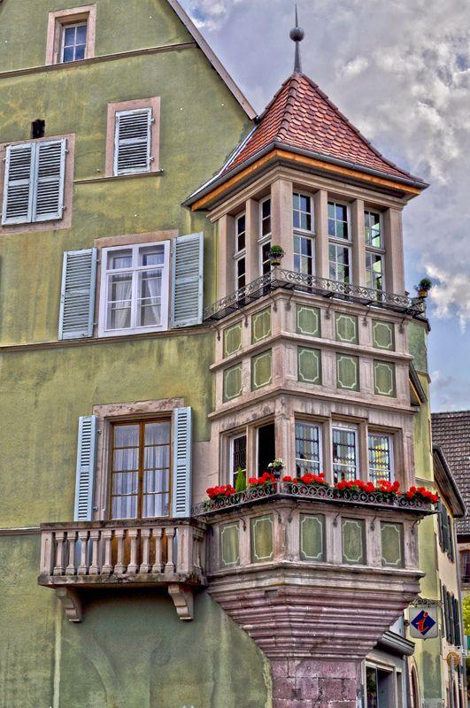 The lucky soul who lives here...  Soultz-Haut-Rhein, Alsace, France