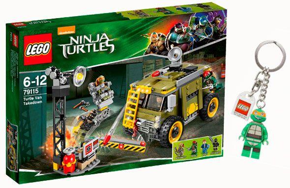 Las Tortugas Ninja celebran su 30º cumpleaños estrenando película y nuevos sets LEGO. Para participar sólo debes rellenar la información de nuestro formulario al final del post, de la sección de concursos de nuestra WEB.