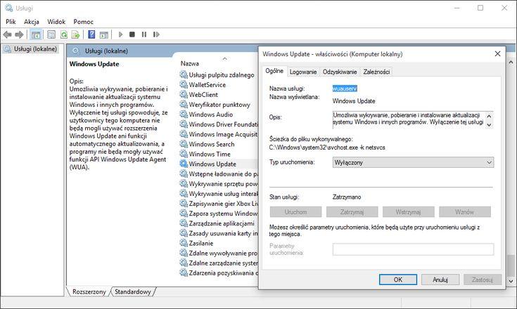 """Wraz z premierą Windows 10 zmieniony został proces wprowadzania aktualizacji do systemu. Teraz wszyscy będą otrzymywać uaktualnienia częściej niż kiedyś i tak naprawdę na siłę – jeśli posiadają wersję Home, natomiast użytkownicy Pro i Enterprise mogą odroczyć """"poprawki"""" choć dużo to nie zmienia. Na próżno szukać opcji dezaktywacji w panelu z Windows Update."""