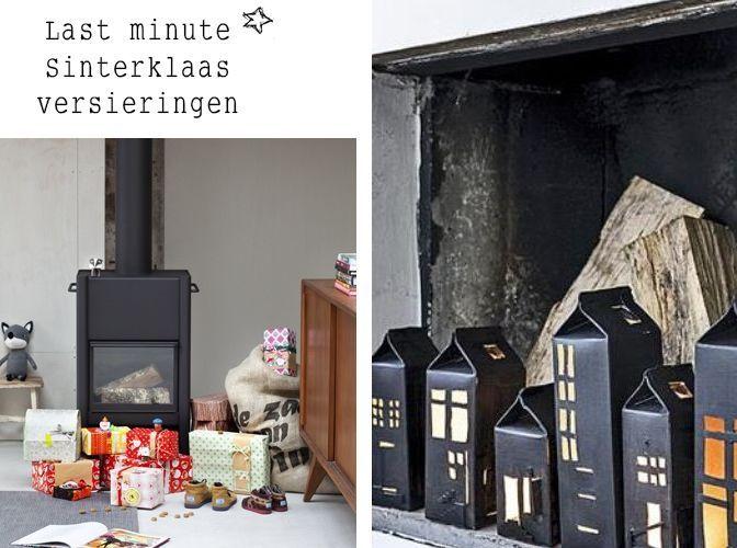 Last minute Sinterklaas versiering voor degene die alles uitstellen of er gewoon nog niet aan toe zijn gekomen.