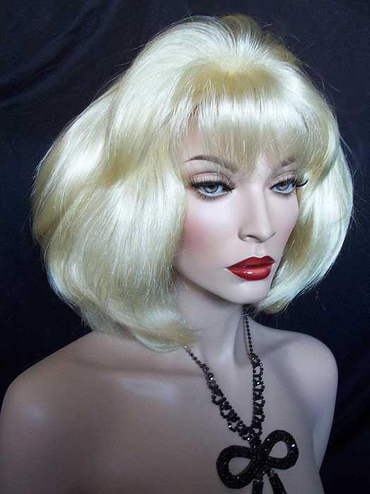 Audrey Drag Wig In Pale Blonde Wig Hairstyles Wigs