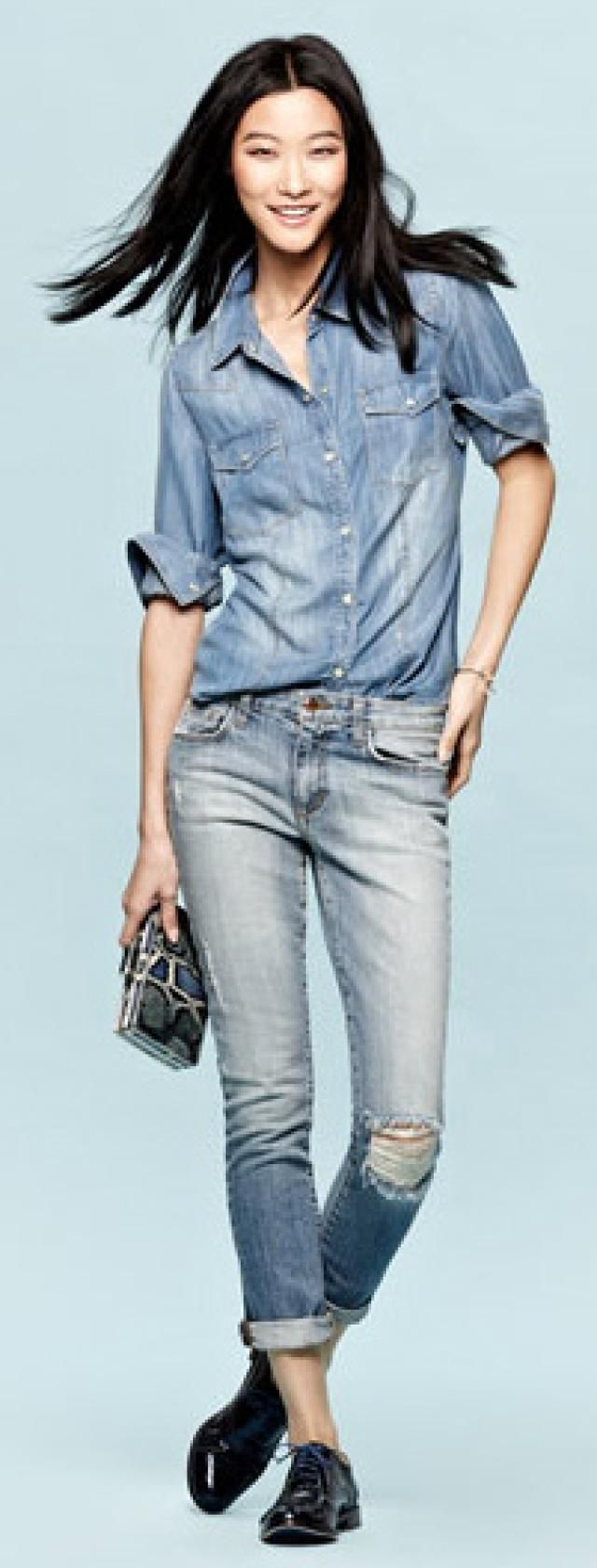 What to Wear with Oxford Shoes for Women: Oxford Shoes and Women's Jeans