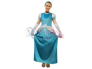 Prenses Sindirella Yetişkin Kostümü