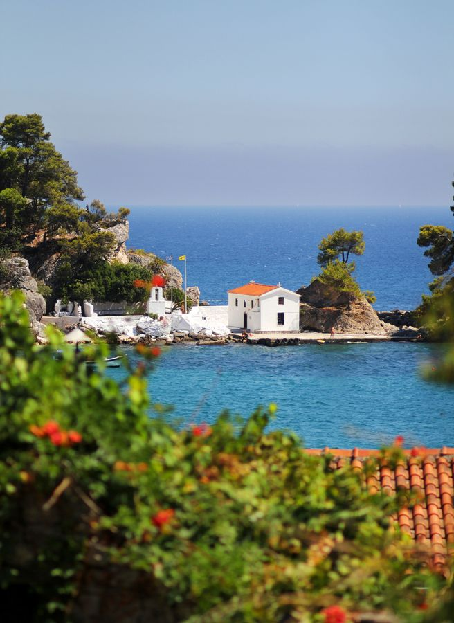 TRAVEL'IN GREECE | Church of Panagia, #Parga, Epirus, #Greece, #travelingreece