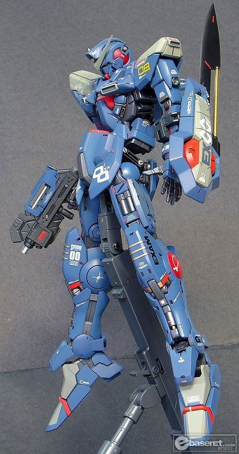 1/100 Gundam Exia: Amazing Remodeling Work by Erix93. Full Photoreview No.33 Large or Big Size Images