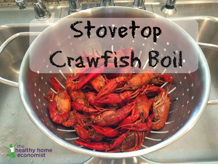 How to boil crawfish on the stovetop healthy home