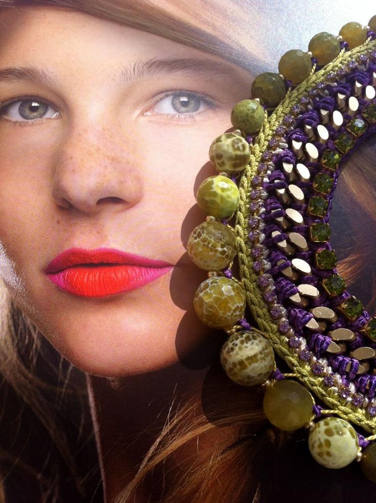 Lamprini necklace ss13