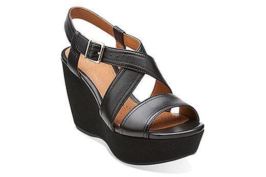 Nadene Ziva Black Leather