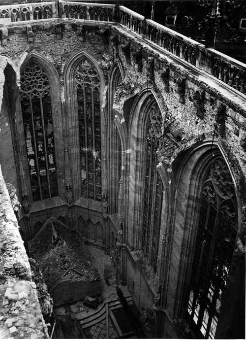 Abandoned... The architecture is breathtaking.