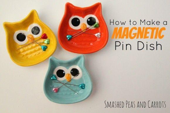 Make a Magnetic Pin Dish