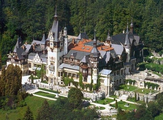 Castillo de Peles//1873-1914//Sinaia, Rumania -Carol Benesch, Karel Liman, Johannes Schultz
