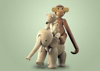 Kay Bojesens Wooden Animals