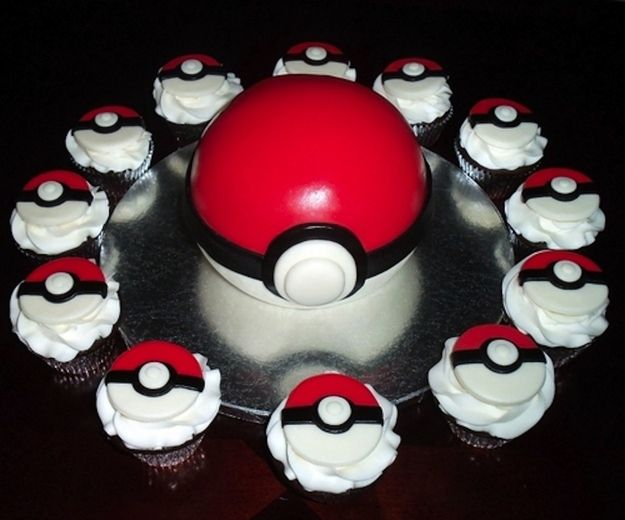 Pokemon cake... I choose you!