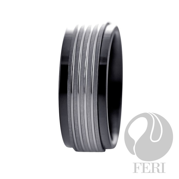 FERI Tungsten - Ring - Tungsten and hi-tech ceramic ring - Shell inlayed - Dimension: 8mm (Width)  FERI Tungsten, Plangsten and Hi-Tech Ceramic collections are unique with deep luster from within. The flawless features and indestructible nature of FERI Tungsten, Plangsten and Hi-Tech Ceramic pieces will create an everlasting beauty and confidence.  www.gwtcorp.com/ghem or email fashionforghem.com for big discount