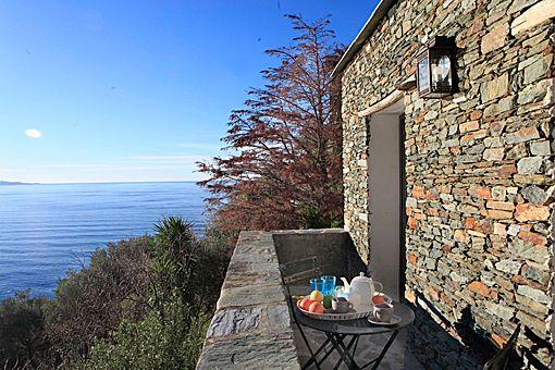 Nonza House, Corsica, France.