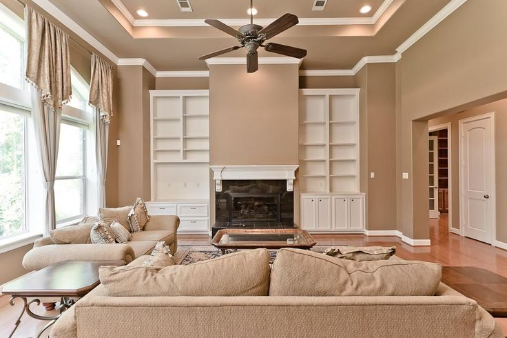 creative living room ceiling designs ideas | living room paint divider ideas two-toned | Ceiling ...