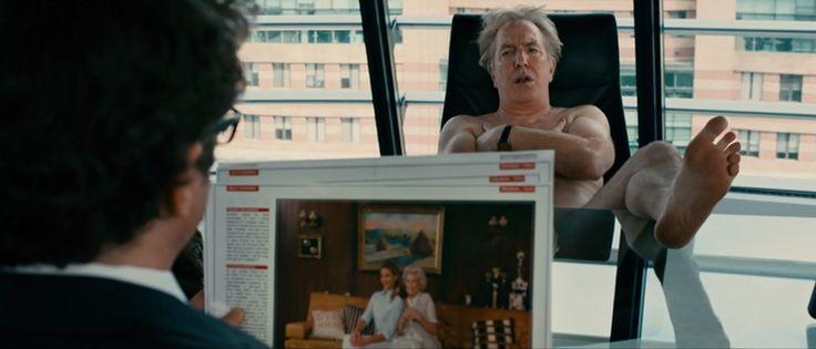 Gambit (2012) Colin Firth and Alan Rickman