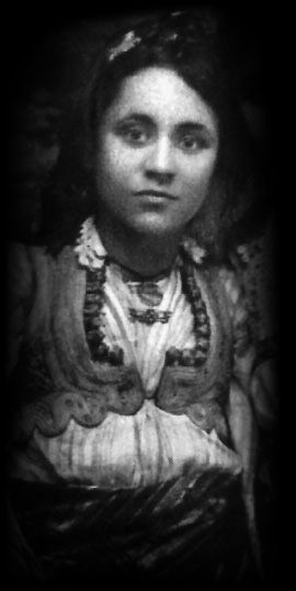 Mother Teresa when young (as if she was ever old). not just a beautiful young woman, but a beautiful young girl