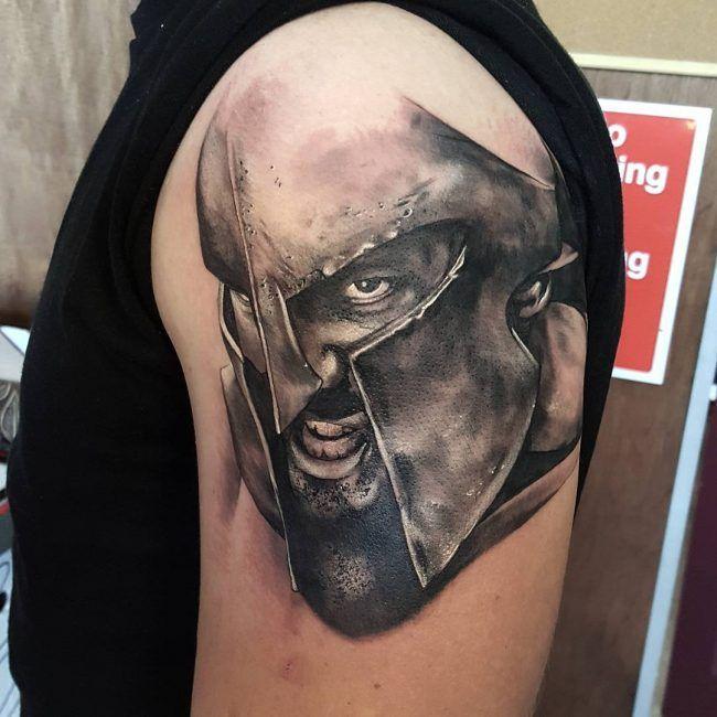 31 best spartan tattoo images on pinterest warrior tattoos fighter tattoos and spartan tattoo. Black Bedroom Furniture Sets. Home Design Ideas
