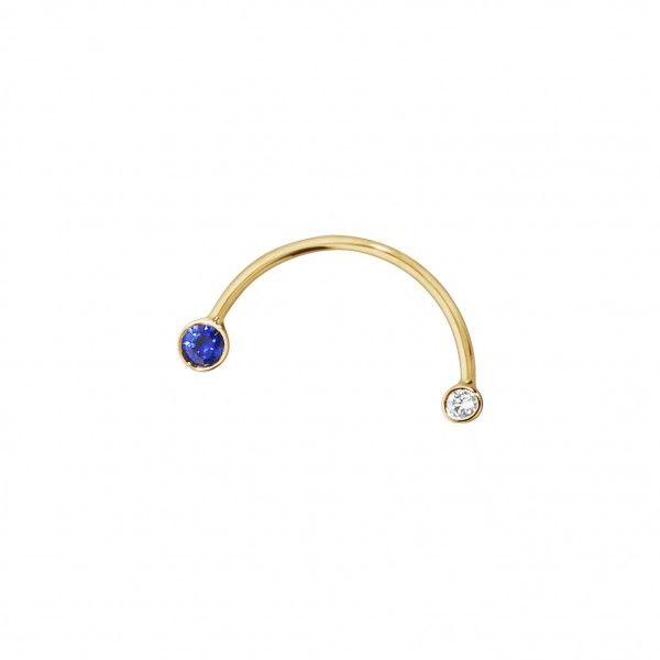 KatrineKristensen_earring_gold_diamonds_sapphires_DKK2700
