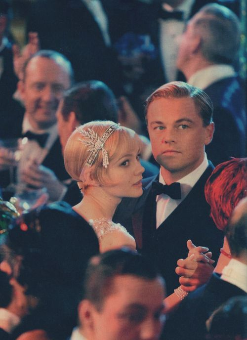 though this is a shot from the great gatsby, imagine a picture like this of the bride and groom...