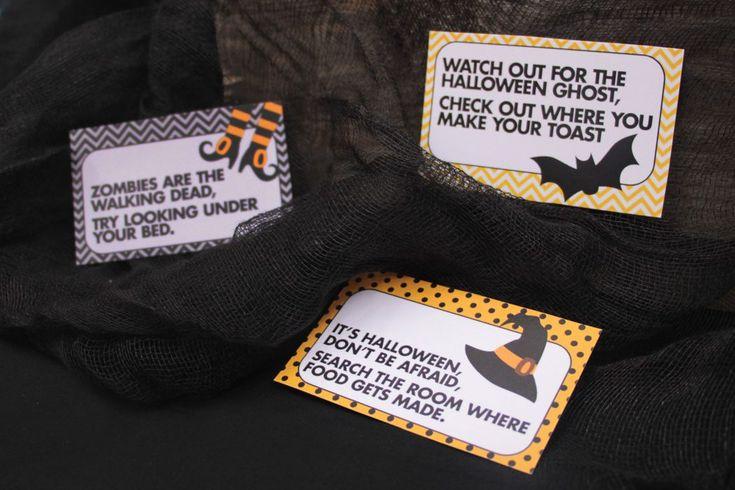 How to Do a Halloween Treasure Hunt