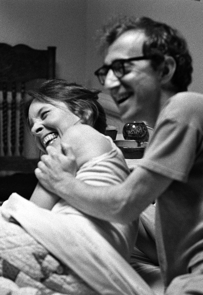 Diane Keaton & Woody Allen in Annie Hall just watched documentary on woody allen very talented no matter what you think of him personally