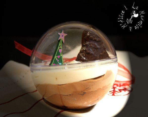 Pour Noël, je savais juste que je voulais partir sur un dessert à base de mousse. En effet, les repas de réveillon sont souvent copieux, et le nôtre n'a pas échappé à la règle même si nous avons essayé d'alléger la chose. Comme j'échangeais sur ce sujet...