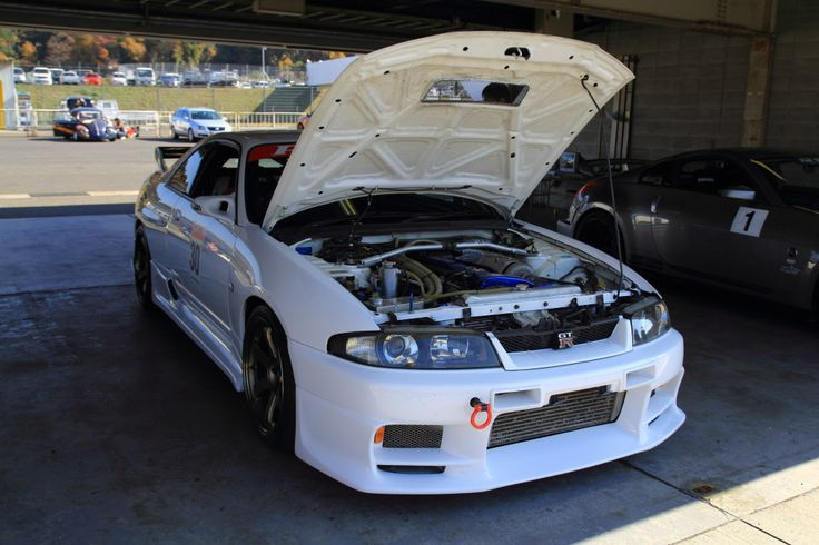 Nissan R33 GTR @ Okayama Circuit Tuning Festa #skyline #nissan #gtr #jdm