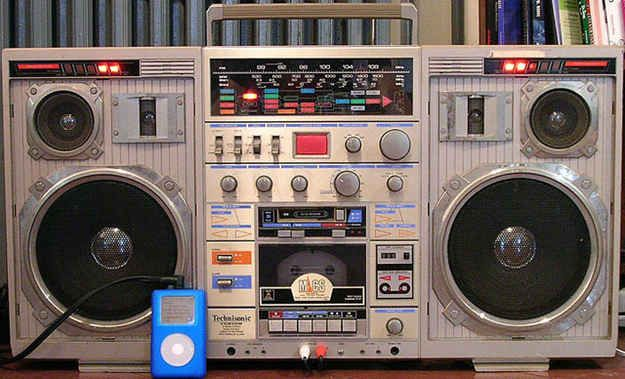Put the boombox on shuffle | 15 Moments When The Past And Future Collided