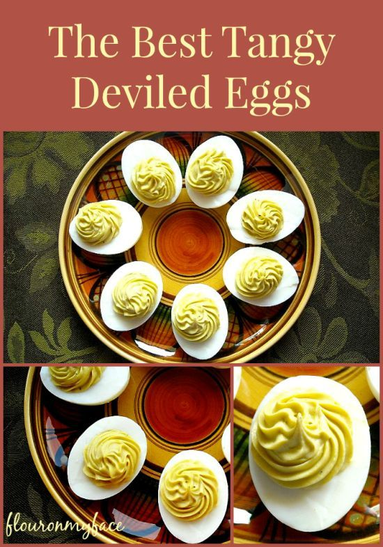 How To Make Tangy Deviled Eggs | http://flouronmyface.com/2011/03/how-to-make-awesome-deviled-eggs.html