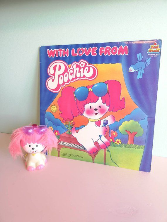 Vintage Poochie Record And Toy Dog 80s Toys Poochie Dog Dog