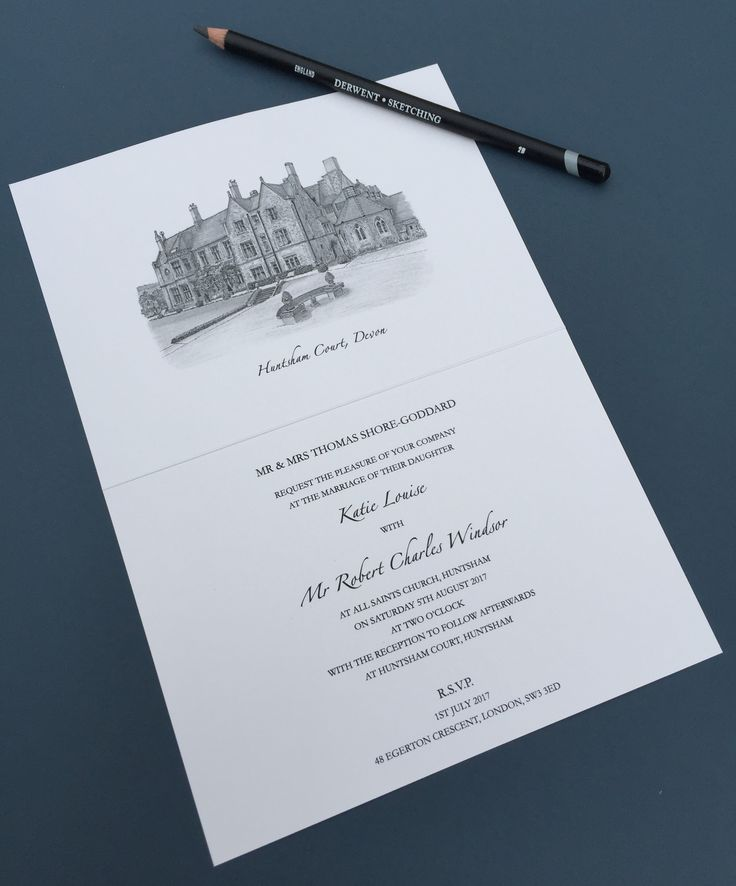 sample wedding invitation letter for uk visa%0A INVITATION  Sample from our illustrated wedding stationery range  Our  speciality is sketching the beautiful