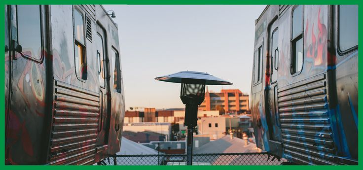 Easey's Hitachi Train Rooftop Bar