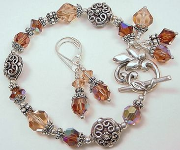 beaded jewelry designs | Principles of Design RHYTHM in Jewelry Designs